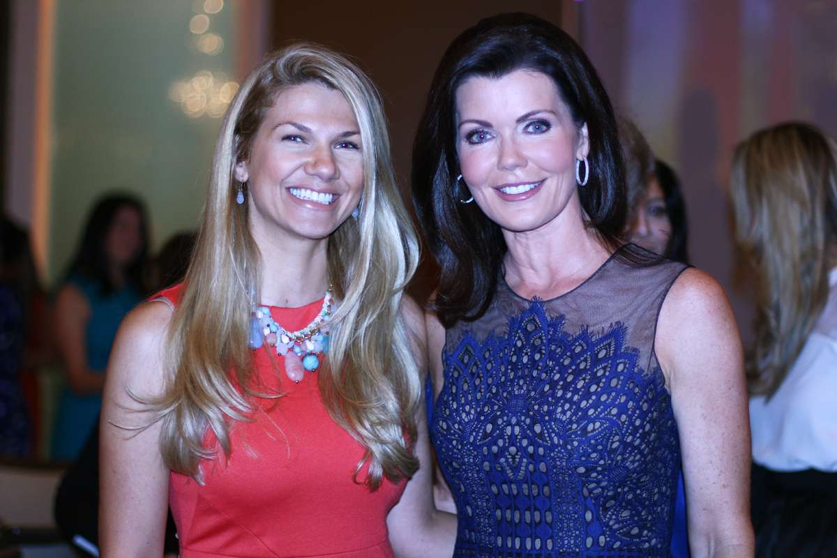 Teodora Thompson, President Miami Marketing Co with Laurie Jennings